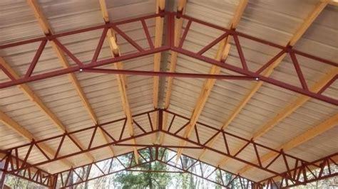 aluminum steel roof trusses rs  square feet vsr