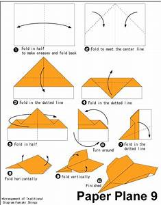 Origami Paper Plane 9 Easy Origami Instructions For Kids