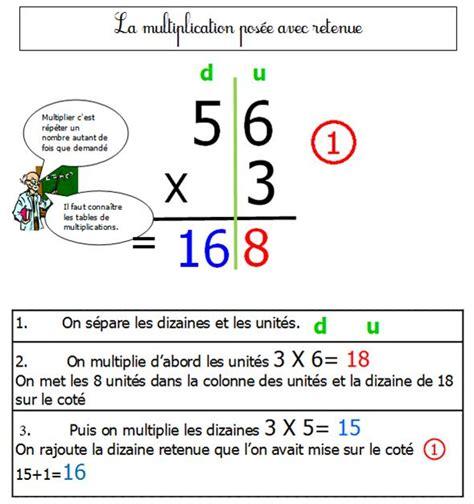 comment apprendre les tables de multiplication ce2 comment apprendre la multiplication en ce1