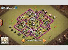 6 War Base TH 7 Terkuat dan Terbaik Anti Naga Dragon