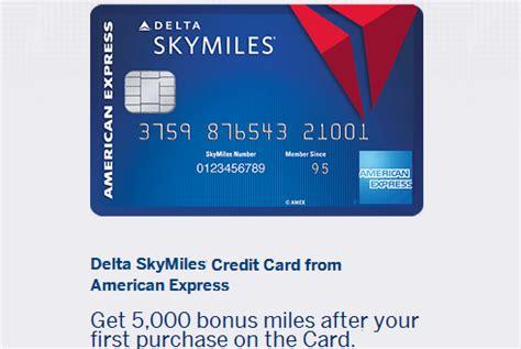 The american express delta skymiles blue card has a straightforward reward system. Delta SkyMiles American Express Credit Card Review