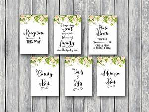Download peonies wedding sign printable bride bows for Wedding shower signs