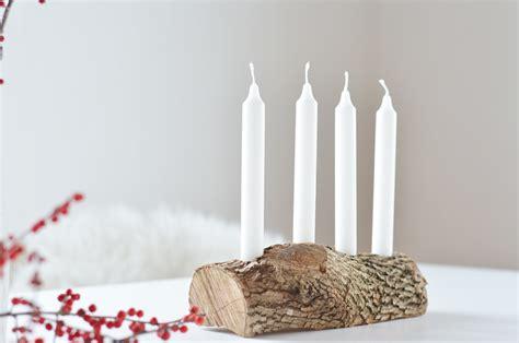 Weihnachtskranz Aus Holz by Do It Yourself Schlichter Adventskranz Aus Holz Bonny