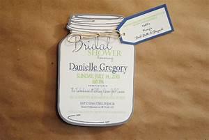 bridal shower invitation templates mason jar bridal shower With free printable mason jar wedding shower invitations