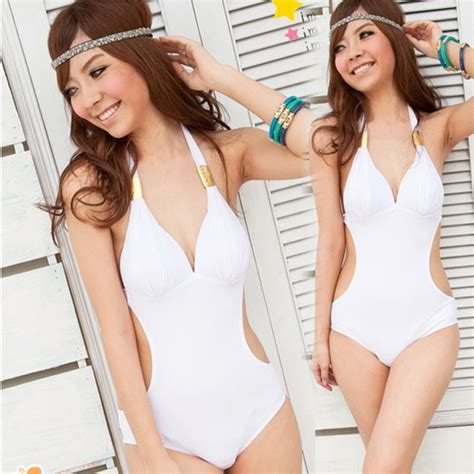 halter v neck swimsuit halter swimsuit v neck swimwear white