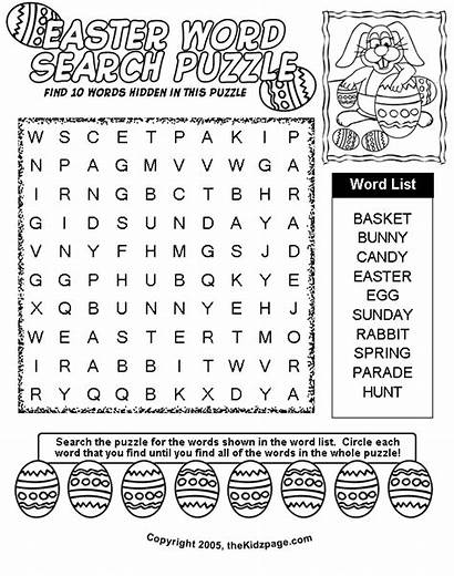 Easter Coloring Pages Word Colouring Searches Printable