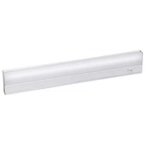 white direct wire fluorescent 21 quot cabinet light