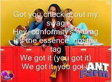 ANT Farm Exceptional Full Theme Lyrics By Doovi