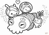 Octonauts Coloring Cuttlefish Cuddle Peso Printable Drawing Colouring Octonaut Craft Cartoon Activities sketch template