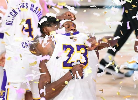 Rajon Rondo sets emotional tone for Lakers in NBA title ...