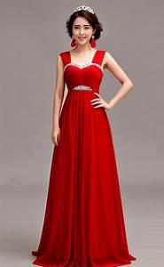 sleeveless silk chiffon floor length a line evening gown With wedding evening dresses