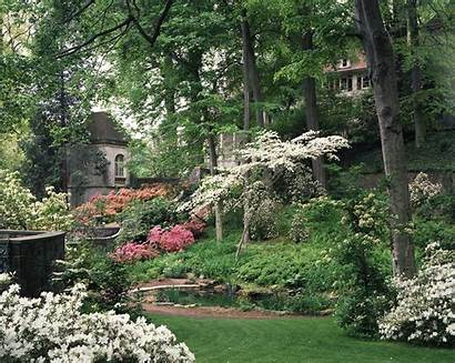 Garden Winterthur Spring Museum Library