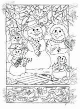 Seek Coloring Pages Printable Hidden Thanksgiving Getcolorings sketch template