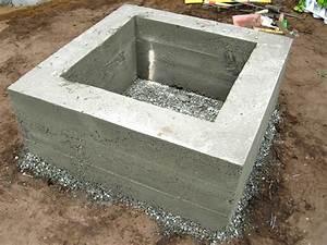 How to Make a Concrete Fire Feature how-tos DIY