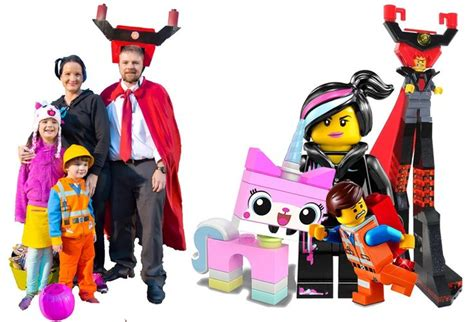 The Lego Movie Diy Costumes Emmet Wyldstyle Lucy