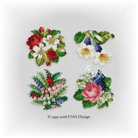 printable cross stitch patterns flowers  cross