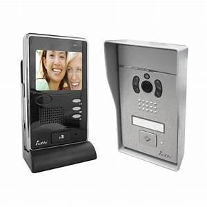 Visiophone Sans Fil Castorama : idk interphone portier vid o couleur sans fil 3 5 pouces ~ Dailycaller-alerts.com Idées de Décoration