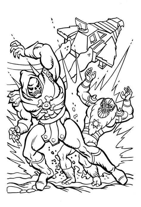 man coloring pages    print