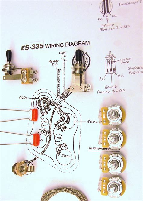Wiring Kit For With Short Switchcraft Toggle Switch