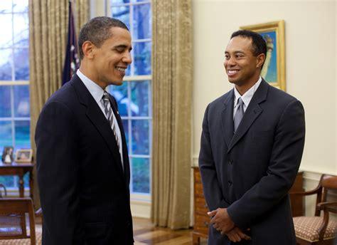 Filebarack Obama Meets Tiger Woods 4 20 09