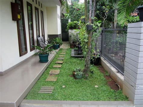 model teras depan belakang rumah minimalis