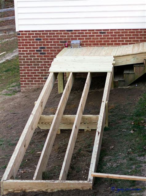 wheelchair ramp ideas  pinterest ramps  wheelchairs wheelchair ramp slope