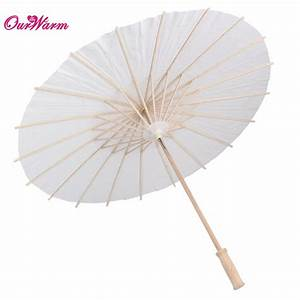 Online Buy Wholesale white paper parasols from China white
