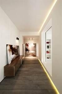 Farben Für Den Flur : led beleuchtung im flur verschiedene ideen f r die raumgestaltung inspiration ~ Sanjose-hotels-ca.com Haus und Dekorationen