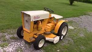 1963 Cub Cadet Original New Painted Parts And Fenders