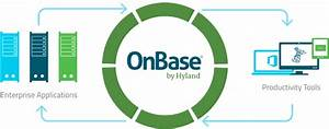 Onbase integrate wcl solution for Hyland document management software