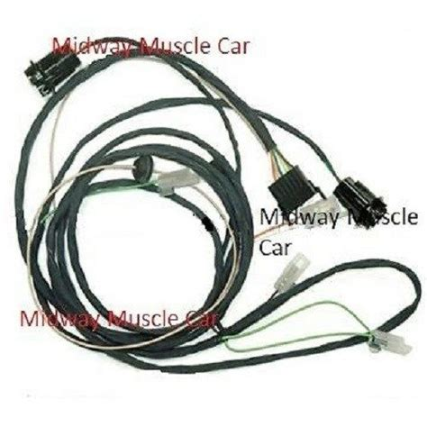 Pontiac Gto Wiring Harnes by Rear Light Wiring Harness 65 Pontiac Gto Lemans