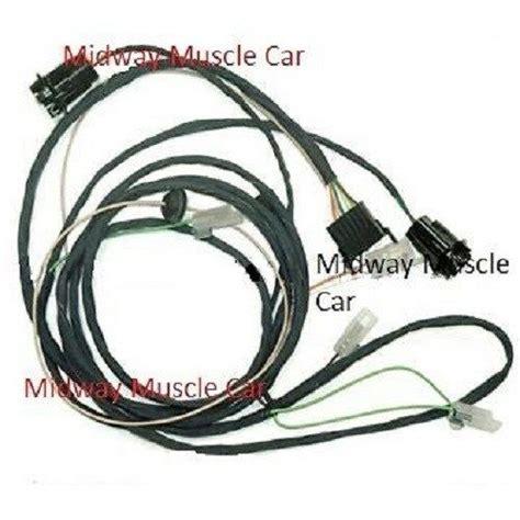 Pontiac Gto Wiring Harnes by Rear Light Wiring Harness 65 Pontiac Gto Lemans