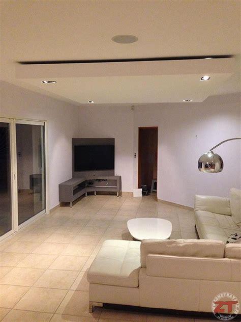 spot sous meuble cuisine brico création d un faux plafond avec ruban led et spots