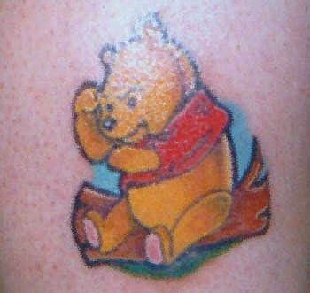 Pooh Tattoo Designs tattoo design winnie  pooh tattoos 350 x 331 · jpeg