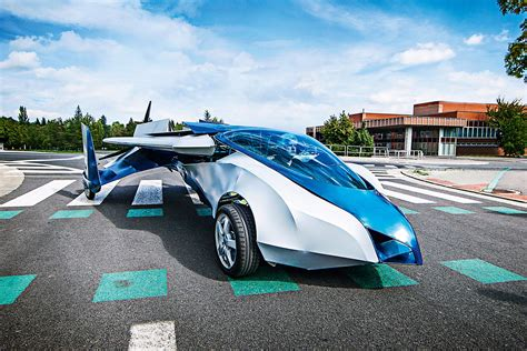 The World's First Flying Cars Will Be In Skies And On