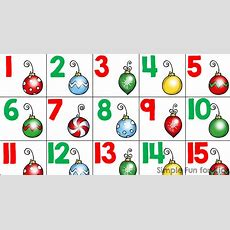 Christmas Numbers Clip Art Free  101 Clip Art