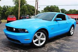 Used 2012 Ford Mustang GT Grabber Blue - Blue Two-Door Coupe 5.0L Automatic for sale