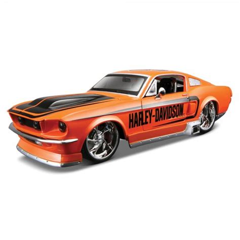 maisto harley davidson 1967 ford mustang gt 1 24 scale