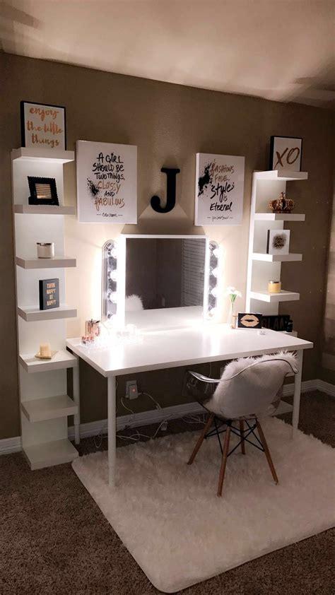 beautiful vanity  diy lights homedecor ideas