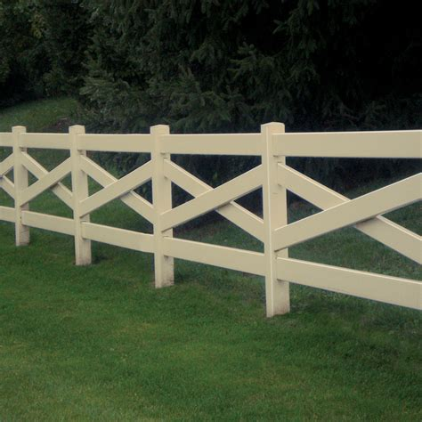 decorative style fence builders choice vinyl fencing