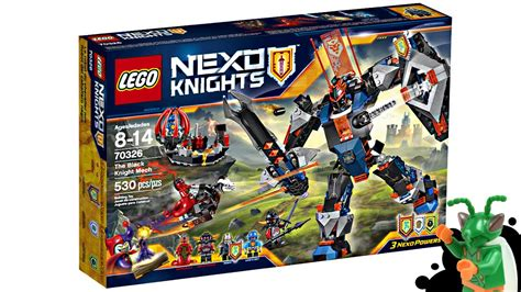 Lego Nexo Knights Black Knight Mech Set Pictures