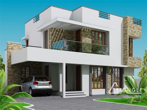Single Story Modern Cottage In Israel by Balcony Designs Two Story Modern House Design Two Story