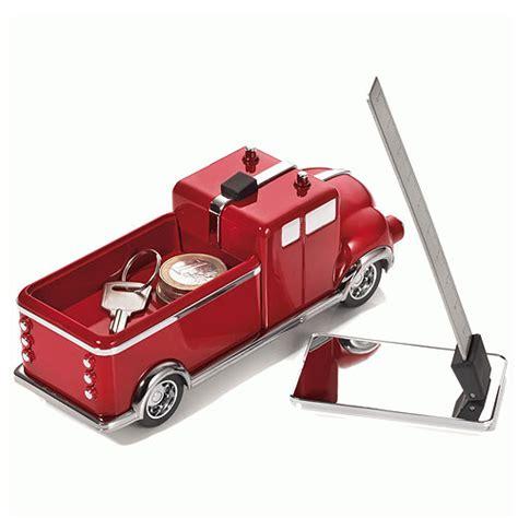 cadeau bureau homme presse papier camion de pompiers aimanté décoration de bureau accessoires de bureau et gadgets