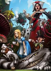 Jack Alice : wonderful illustrations of alice in wonderland ~ Frokenaadalensverden.com Haus und Dekorationen