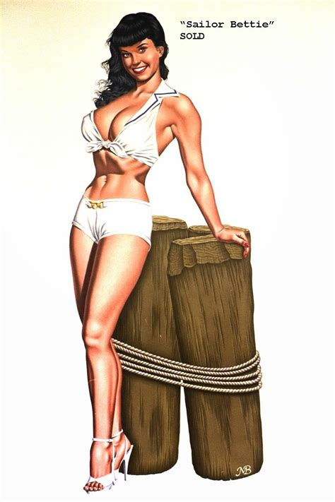 Classic Nude Pinup Art Of Mark Blanton Pinup Art Artists