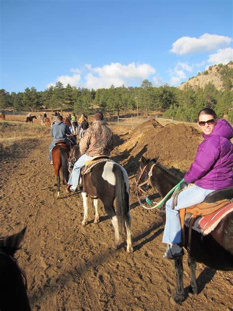 park horseback estes riding colorado
