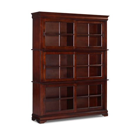 wood bookcase with doors bookcases for sale at hayneedle com