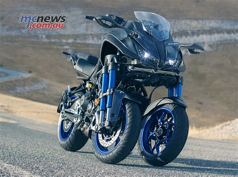 Yamaha Niken by Mt 09 Powered Trike From Yamaha Mtx850 Niken Mcnews Au