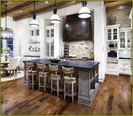 Kitchen Islands Designs With Seating Large Kitchen Island With Seating Home Design Ideas