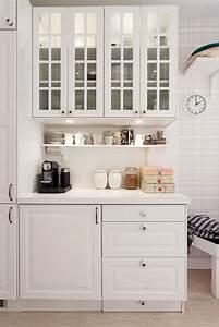 meuble haut cuisine jusqu au plafond bsta bilder om With meubles pour petite cuisine